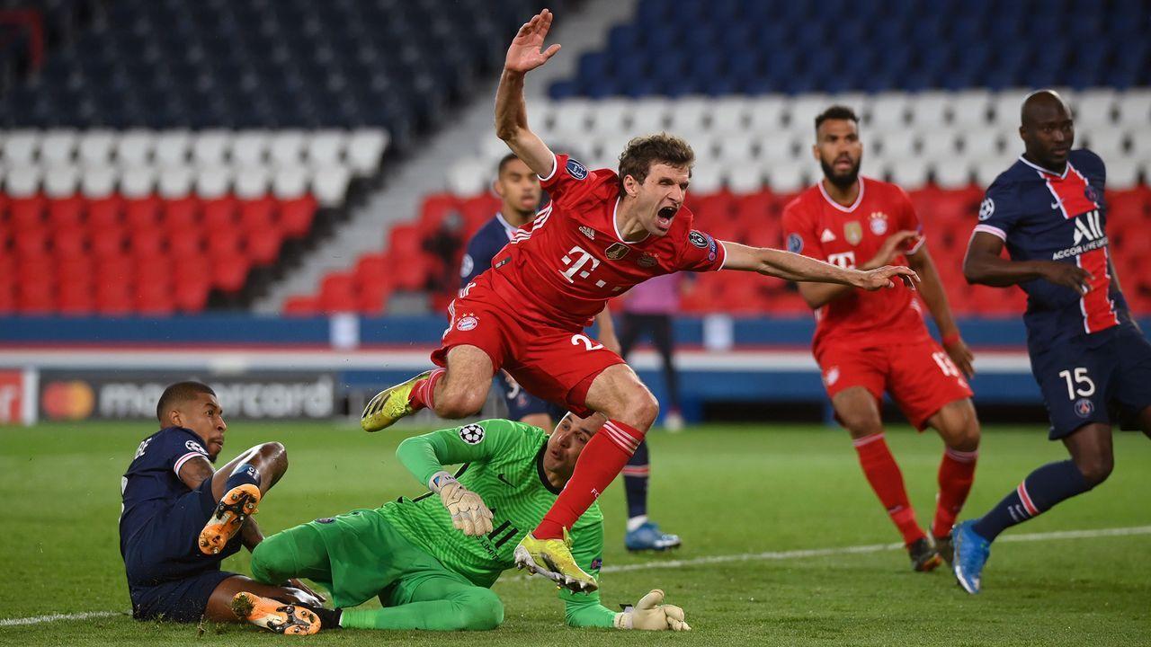 Champions-League-Aus gegen PSG - Bildquelle: 2021 Getty Images