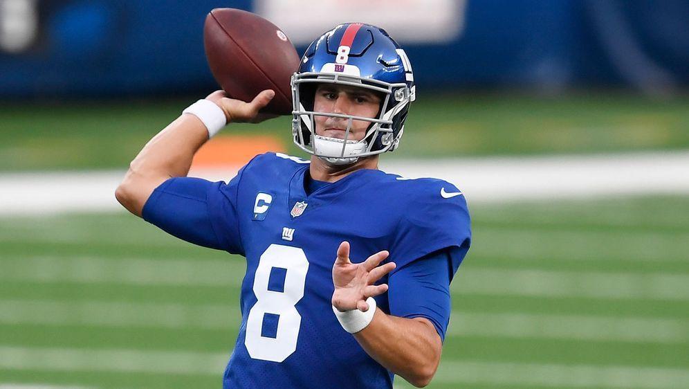 Nach dem Karriereende von Eli Manning ist Daniel Jones nun der neue Franchis... - Bildquelle: 2020 Getty Images