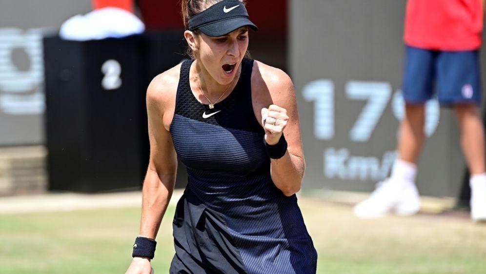 WTA-Turnier in Berlin: Belinda Bencic im Finale - Bildquelle: AFPSIDTobias Schwarz