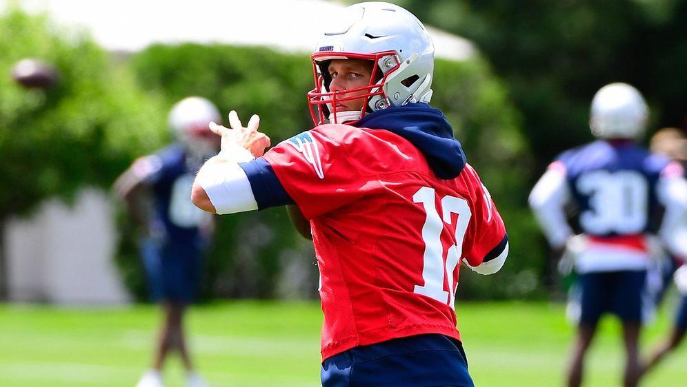 Tom Brady geht in sein letztes Vertragsjahr. - Bildquelle: imago