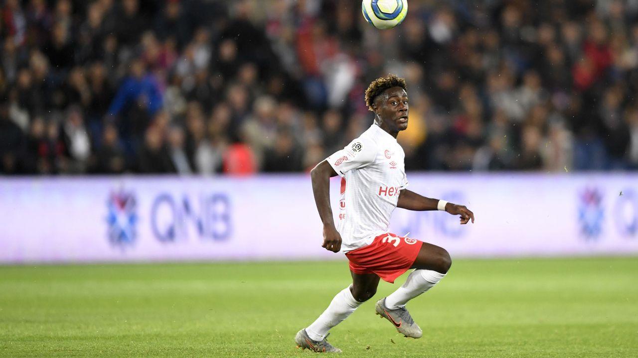 5. Nathanaël Mbuku (Stade Reims/Frankreich) - Bildquelle: imago images/PanoramiC