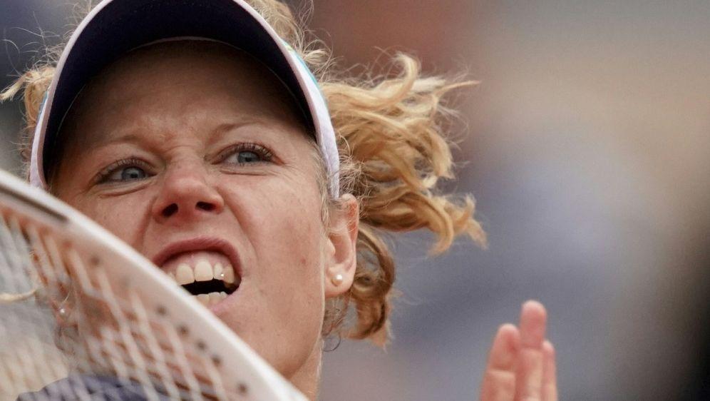 Laura Siegemund schied im Viertelfinale aus - Bildquelle: AFPSIDKENZO TRIBOUILLARD