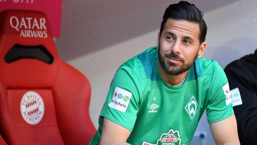 Claudio Pizzaro spielt noch eine Saison in Bremen - Bildquelle: Getty Images