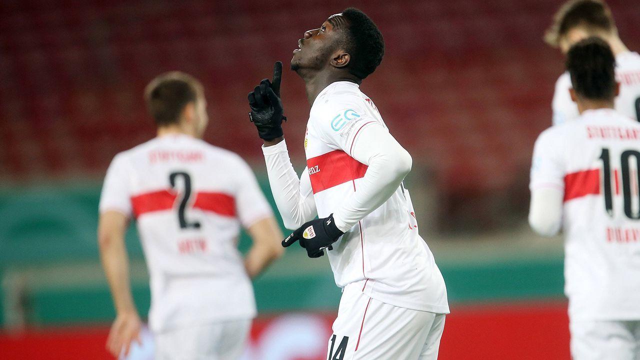 Silas Wamangituka (VfB Stuttgart) - Bildquelle: Imago Images