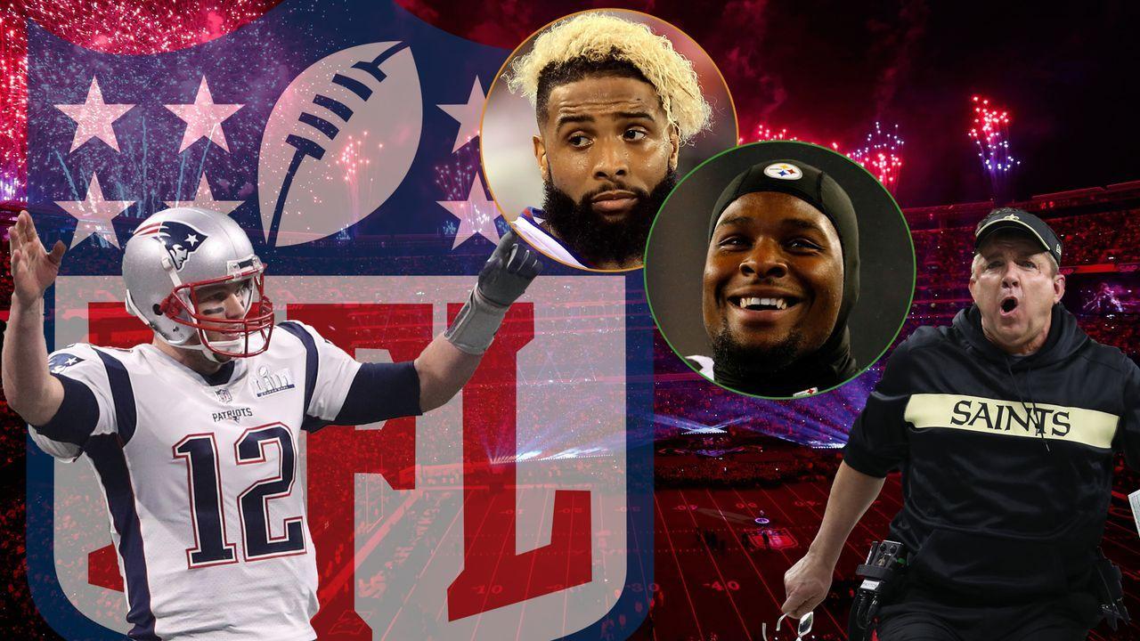 NFL-Spielplan 2019: Die Highlights im Überblick - Bildquelle: Getty