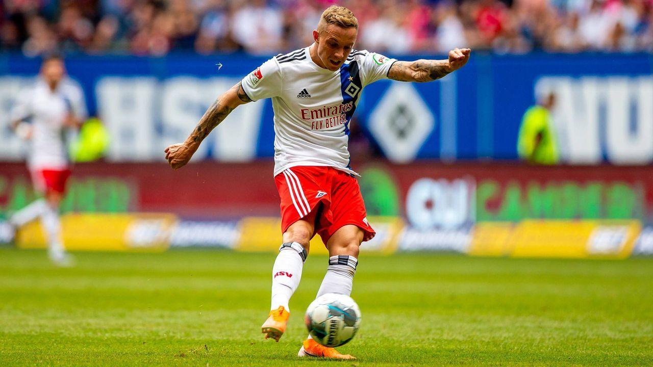Mittelfeld - Sonny Kittel (Hamburger SV) - Bildquelle: imago images / Philipp Szyza