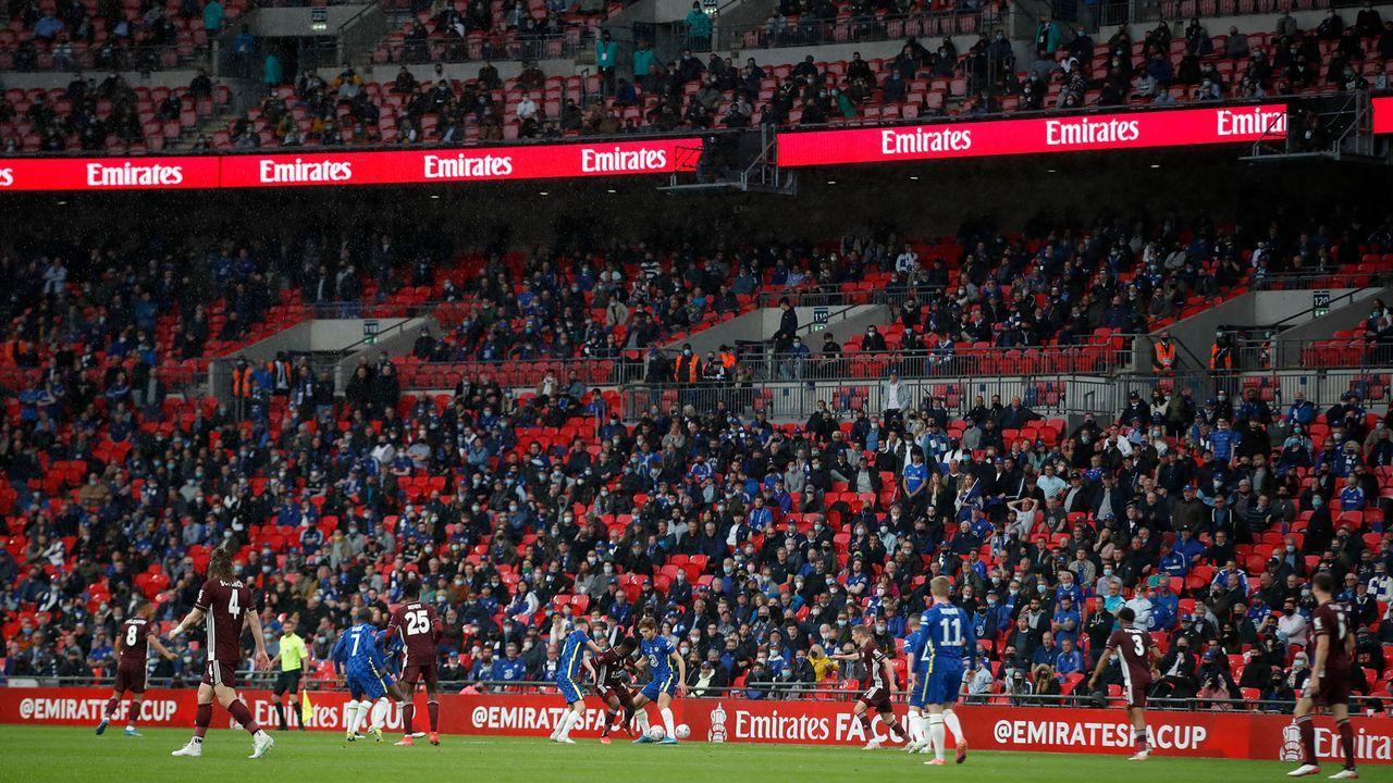 Über 20.000 Fans im Stadion - Bildquelle: 2021 Getty Images