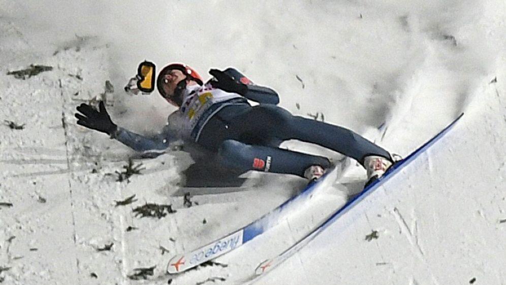 Siegel stürzte in Zakopane schwer - Bildquelle: AFPSIDJANEK SKARZYNSKI