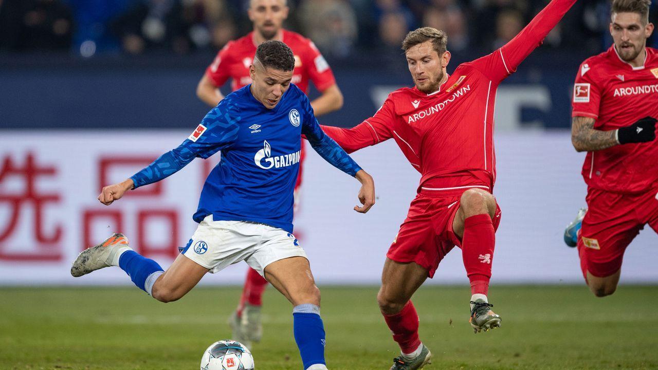 Union Berlin (31 Punkte, -18 Tore) - FC Schalke 04 (37 Punkte, -12 Tore) - Bildquelle: Getty Images