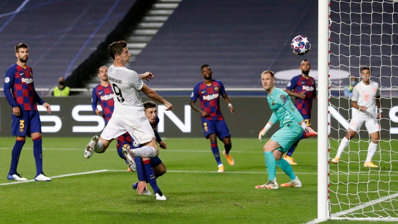 Gala gegen Barcelona im Viertelfinale der Champions League - Bildquelle: 2020 Pool