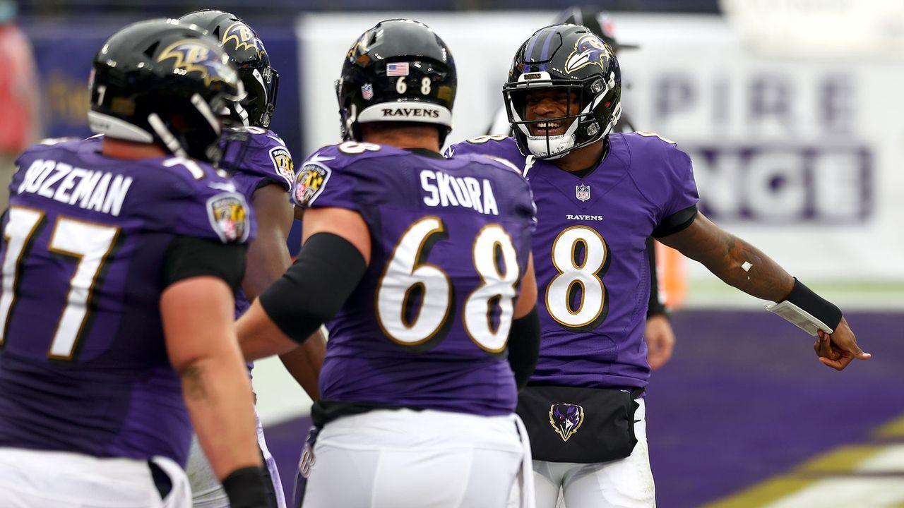 Baltimore Ravens (Week 12 in Pittsburgh) - Bildquelle: 2020 Getty Images