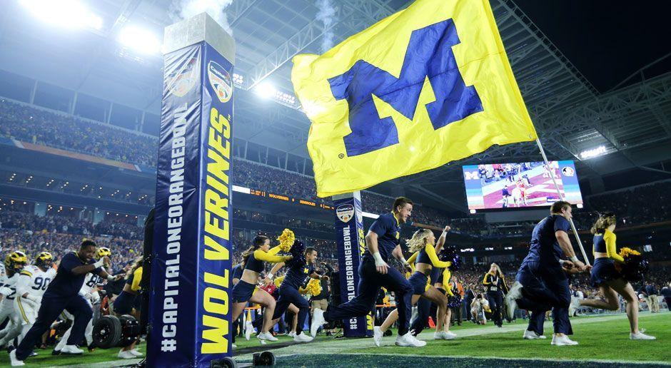 7. Michigan Wolverines - Bildquelle: 2016 Getty Images