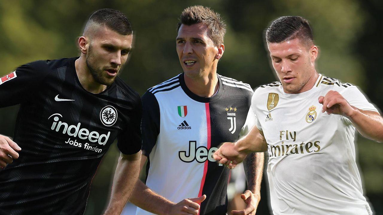 1. These: Kovac holt Mandzukic, Rebic und Jovic - Bildquelle: imago images / Sportimage