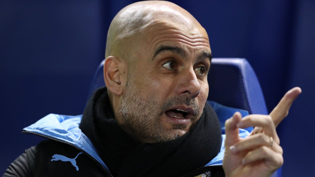 Platz 3: Pep Guardiola - Bildquelle: 2020 Getty Images