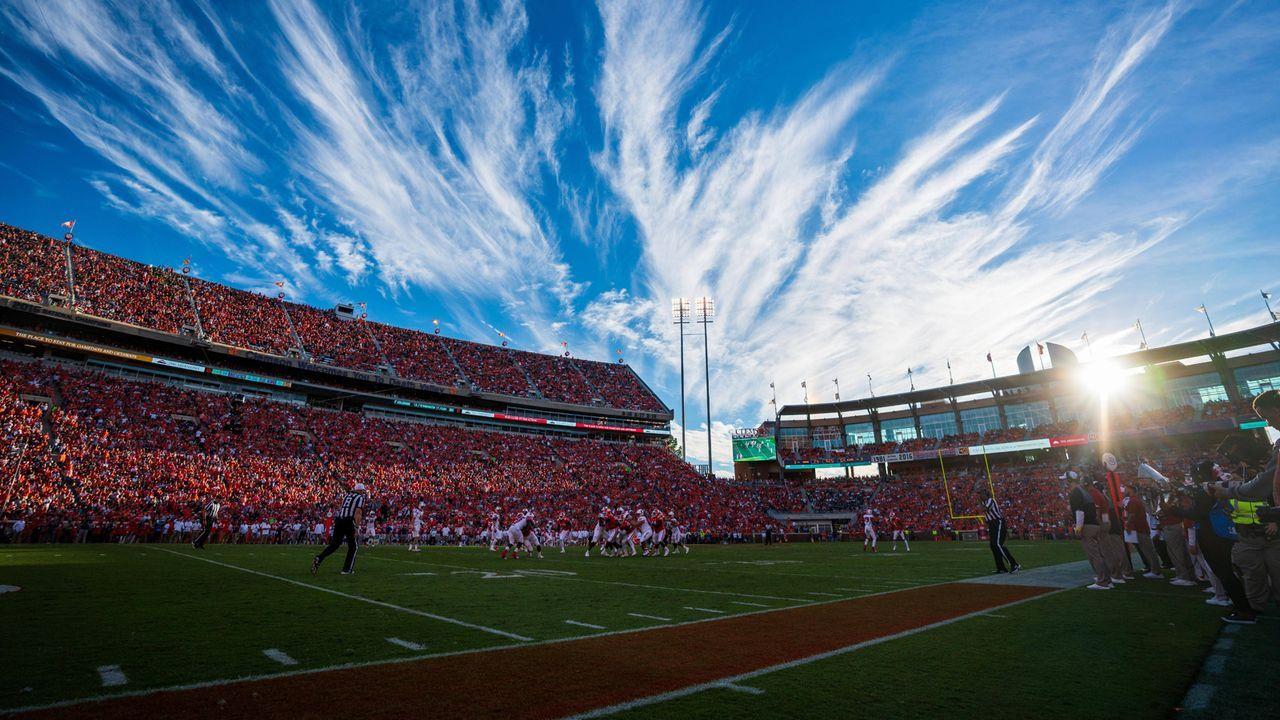 4. Platz: Memorial Stadium, Clemson - Bildquelle: imago/ZUMA Press