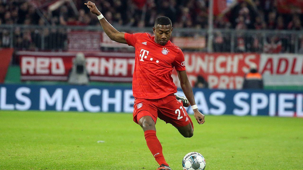David Alaba (Bayern München) - Bildquelle: imago