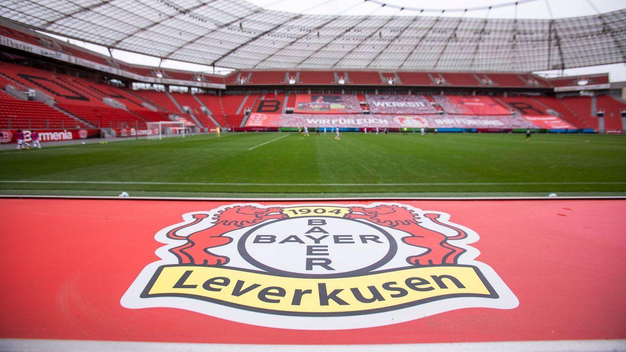 Platz 8 (geteilt): Bayer 04 Leverkusen - Bildquelle: imago images/Mika Volkmann