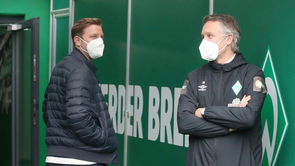 Frank Baumann erklärt die Trennung von Trainer Kohfeldt - Bildquelle: FIROFIROSID