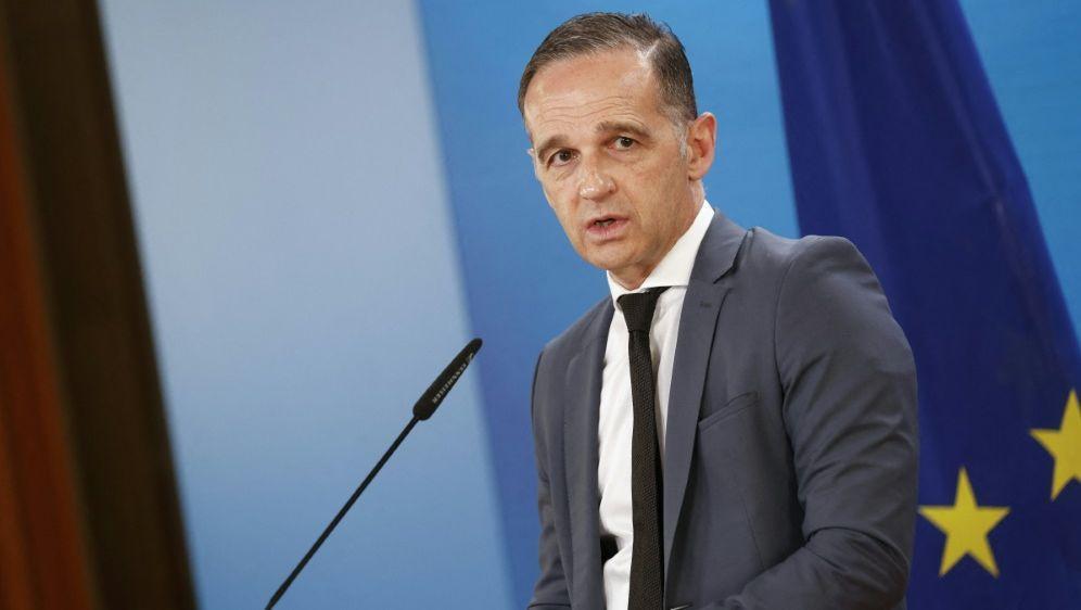 Heiko Maas kritisiert die Entscheidung der UEFA - Bildquelle: AFPPOOLSIDAXEL SCHMIDT