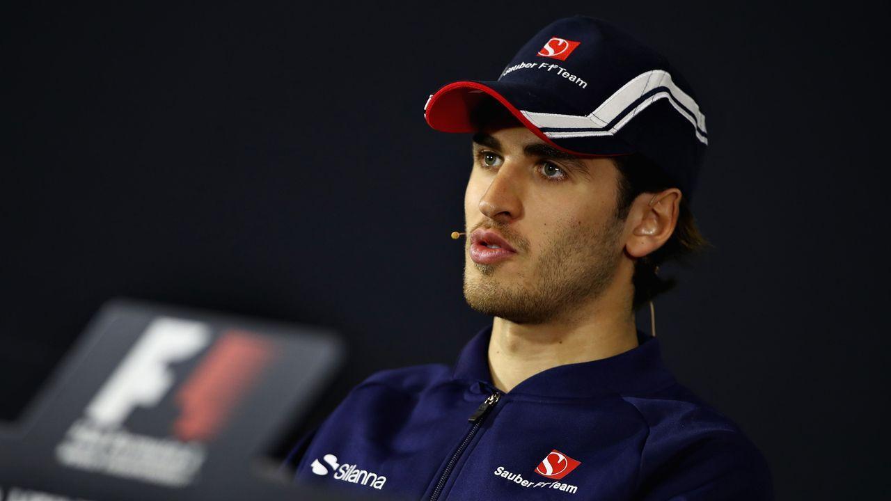 Antonio Giovinazzi (Alfa Romeo Sauber F1 Team) - Bildquelle: getty