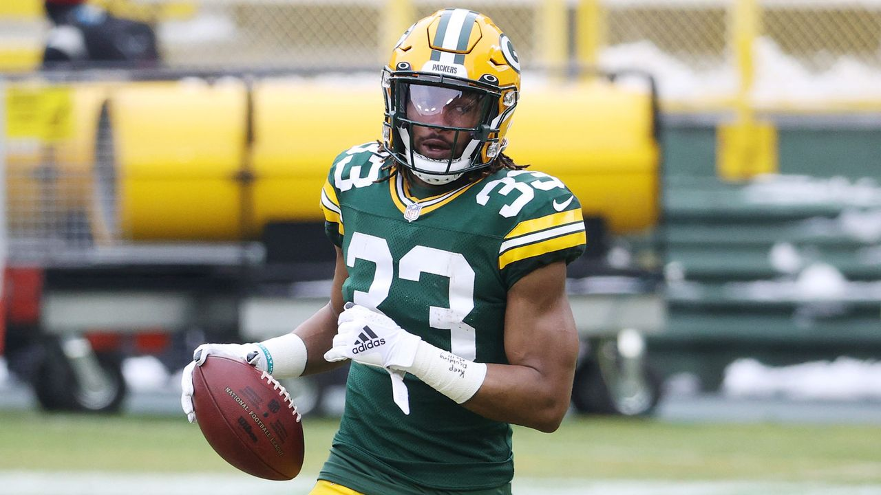 Aaron Jones (Green Bay Packers) - Bildquelle: 2021 Getty Images