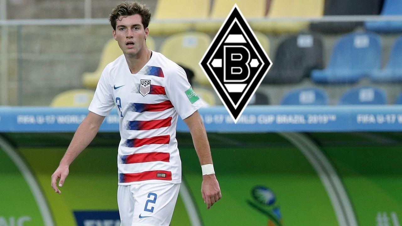 Joe Scally (ab 2021 Borussia Mönchengladbach) - Bildquelle: imago images/AFLOSPORT