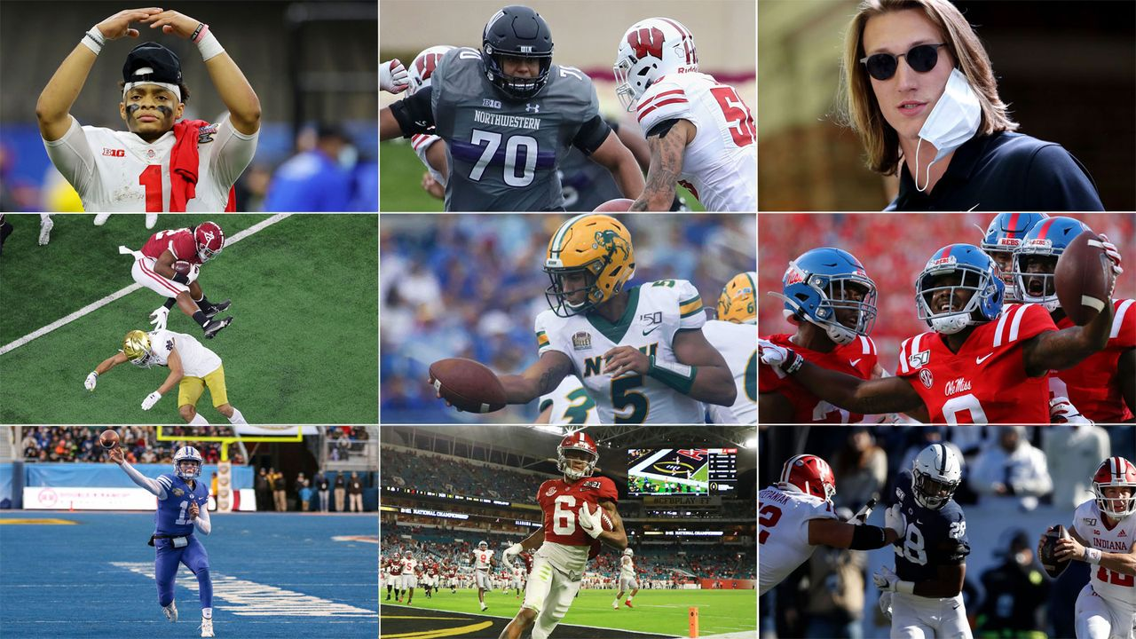 Der NFL-Mockdraft von ran-Autor Christian Stüwe - Bildquelle: Getty/Imago