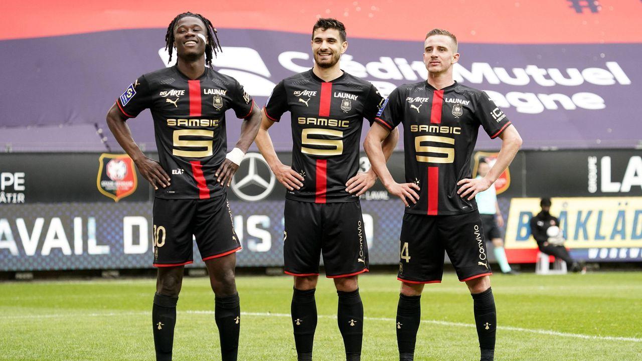 Platz 4 (geteilt): Stade Rennes - Bildquelle: imago images/PanoramiC