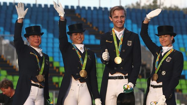Dressur Team (Pferdesport/Gold) - Bildquelle: 2016 Getty Images