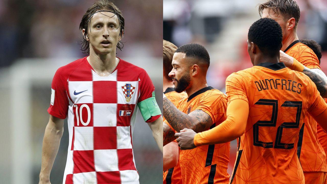Ausnahmen: Kroatien und Niederlande - Bildquelle: imago/Pro Shots