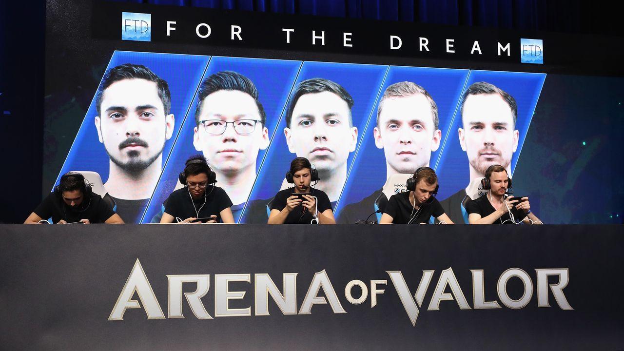 Platz 5: Arena of Valor - Bildquelle: Getty Images