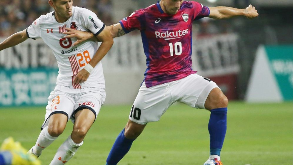 Podolski feiert mit Kobe zweiten Saisonsieg - Bildquelle: JIJI PRESSJIJI PRESSSIDSTR