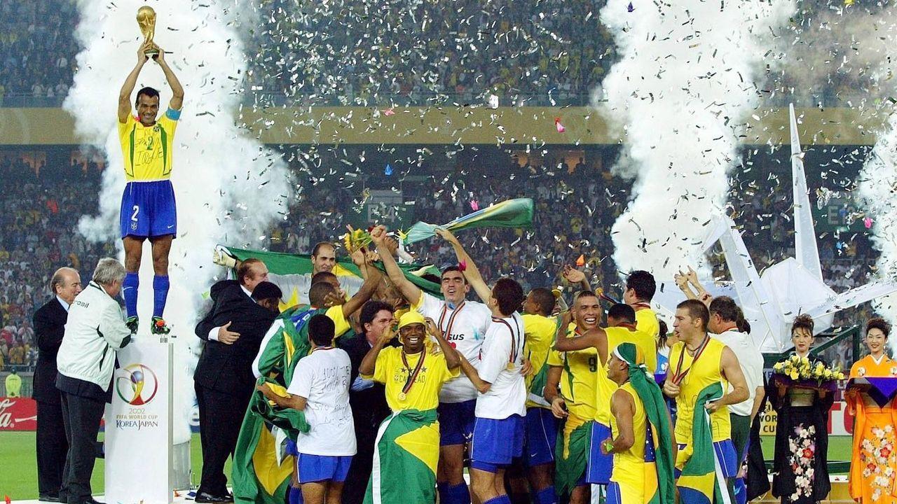Platz 2: Brasilien (fünf Final-Teilnahmen) - Bildquelle: imago
