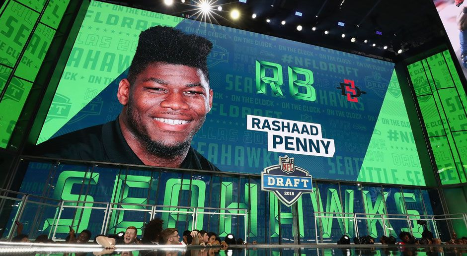 27. Rashaad Penny (Running Back, Seattle Seahawks)  - Bildquelle: 2018 Getty Images