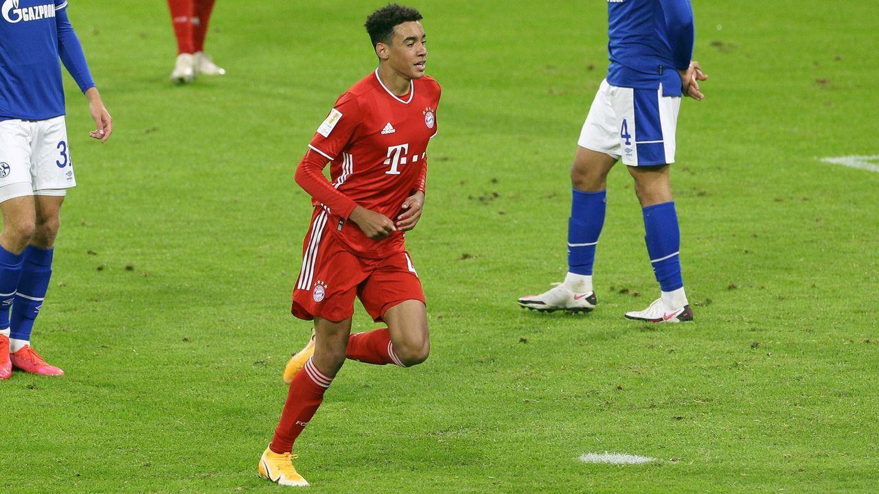 Bayerns jüngster Bundesliga-Torschütze: Das ist Jamal Musiala - Bildquelle: imago images/kolbert-press