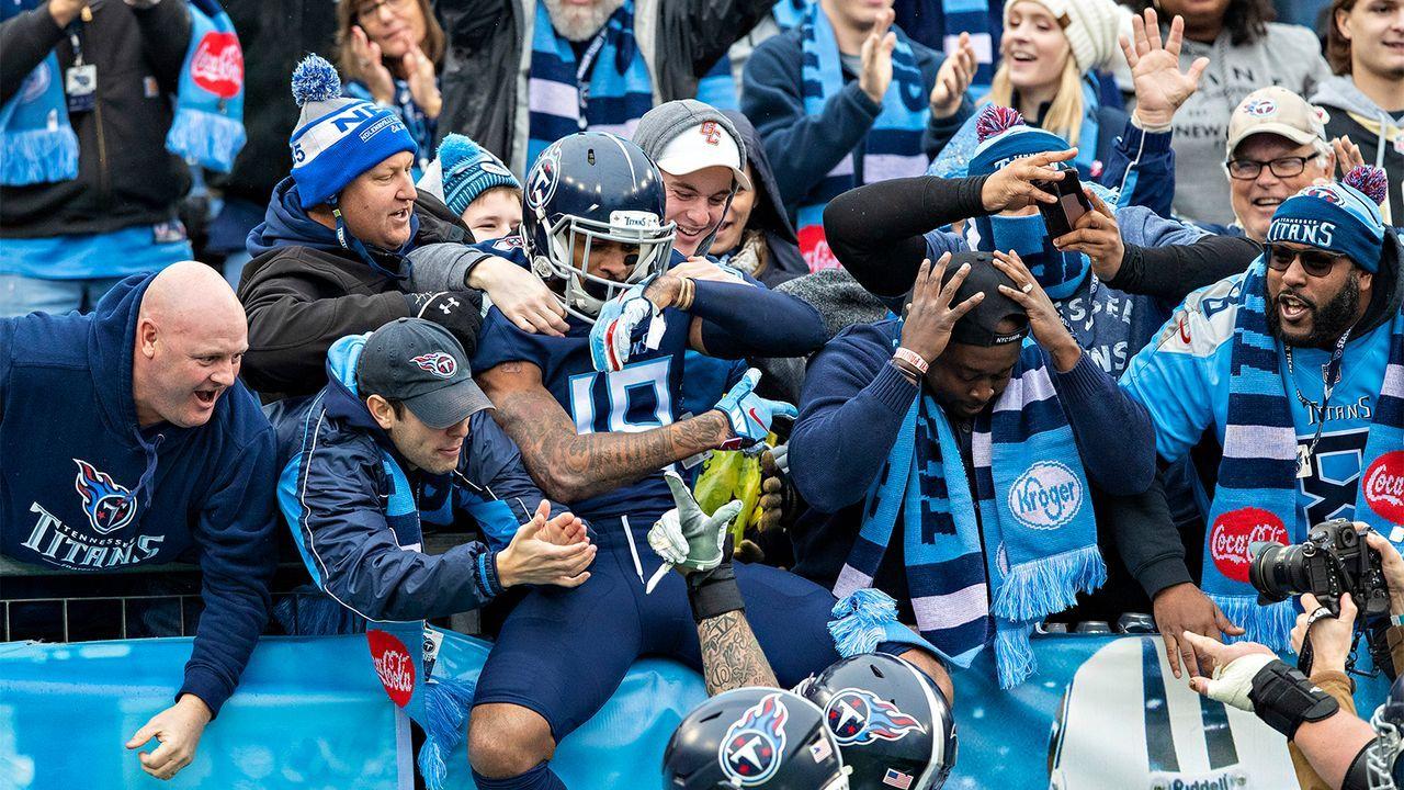 AFC: Tennessee Titans (8-7)   - Bildquelle: getty