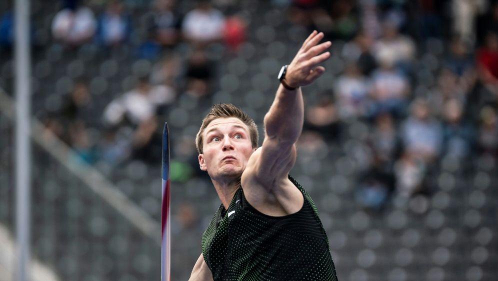 Speerwurf-Olympiasieger Thomas Röhler ist optimistisch - Bildquelle: PIXATHLONPIXATHLONSIDSebastian Wells