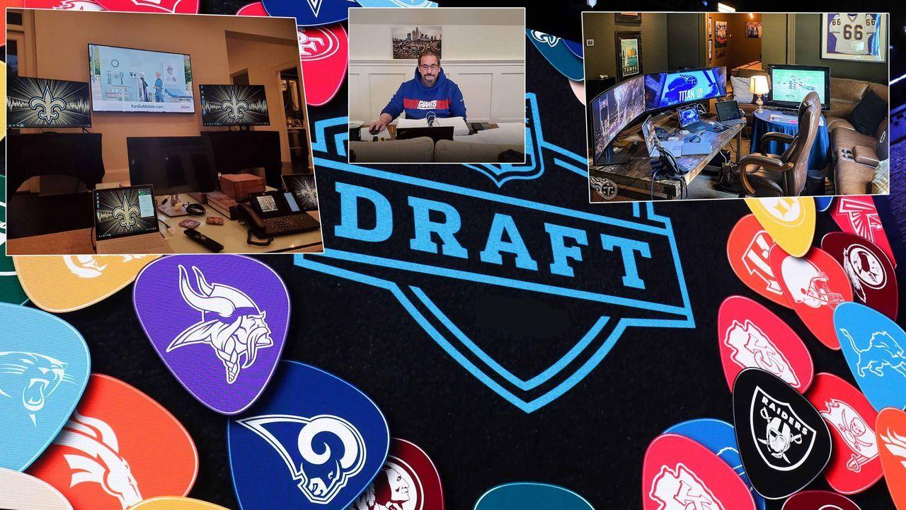Gewinner: Die IT-Kollegen der NFL - Bildquelle: imago ; twitter/NYGToday ; twitter/SeanPayton ; twitter/Titans