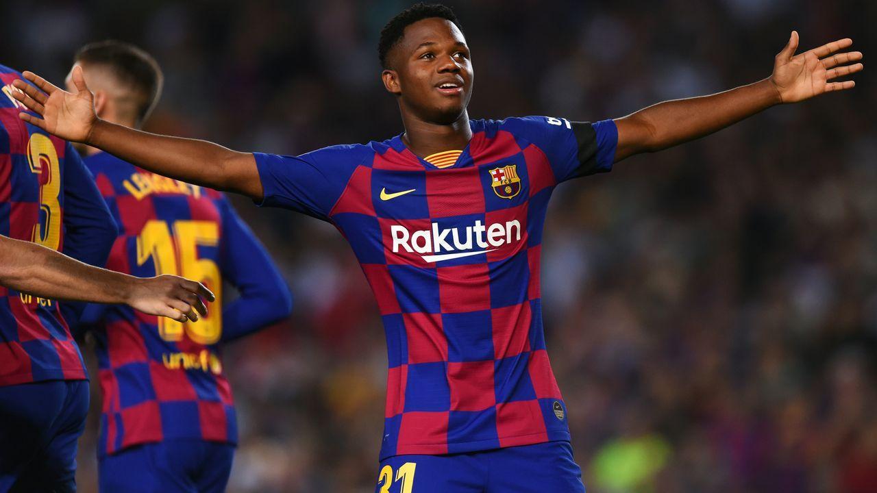 Ansu Fati (FC Barcelona) - Bildquelle: 2019 Getty Images
