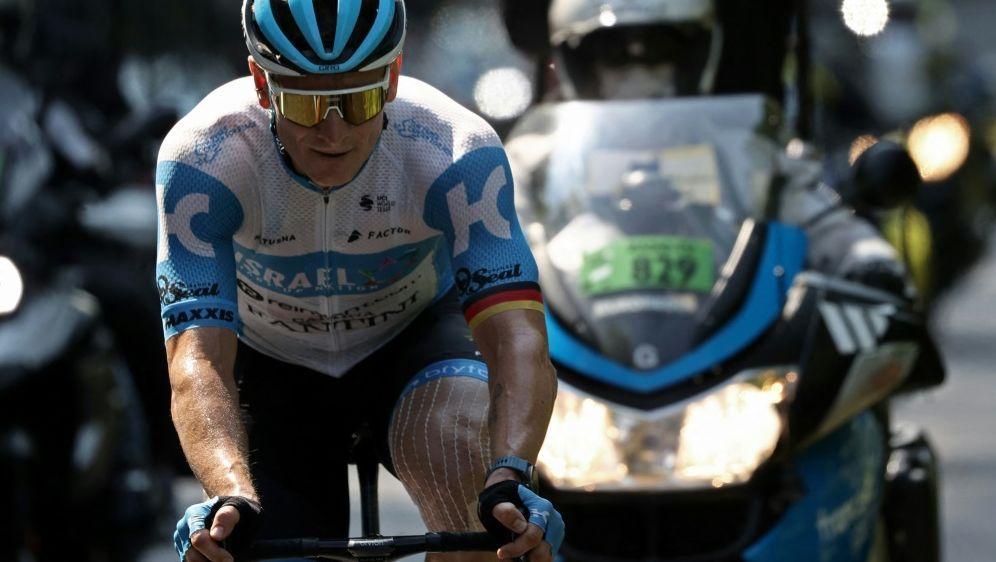 Andre Greipel wird im Sprint Sechster - Bildquelle: AFPSIDKENZO TRIBOUILLARD