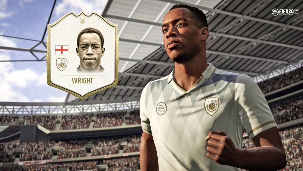 Ian Wright erarbeitete sich als Stürmer des FC Arsenal absoluten Legendensta... - Bildquelle: EA Sports