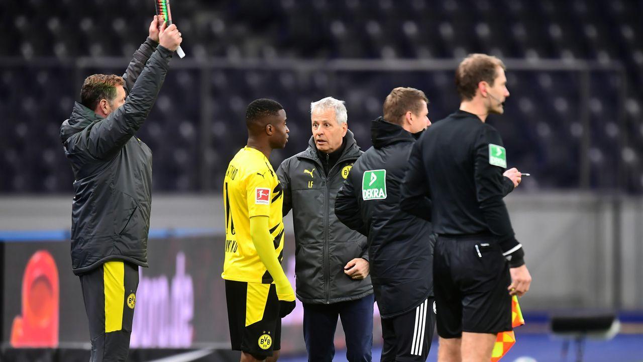 Platz 1 - Youssoufa Moukoko (Borussia Dortmund) - Bildquelle: 2020 Getty Images