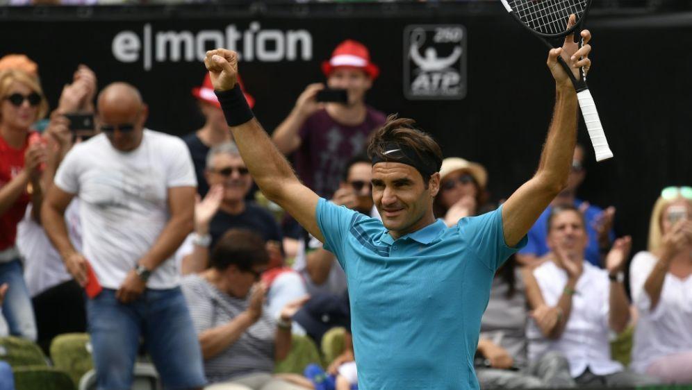Federer gewann gerade in Stuttgart seinen 98. Titel - Bildquelle: AFPSIDTHOMAS KIENZLE