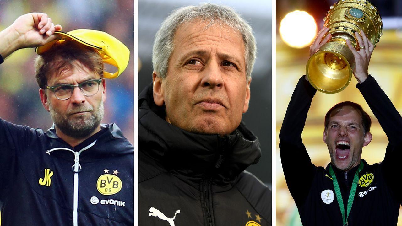 Die BVB-Trainer mit dem besten Punkteschnitt - Bildquelle: Getty Images