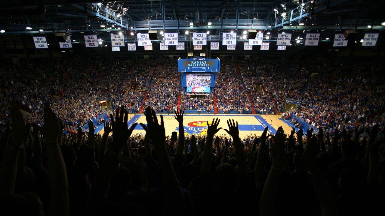 6. Platz: Allen Fieldhouse, University of Kansas - Bildquelle: imago sportfotodienst