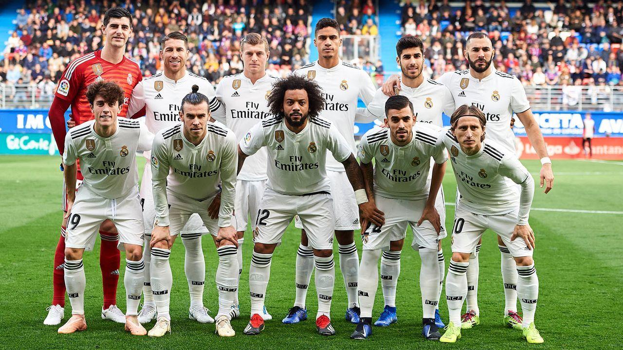 Platz 1: Real Madrid - Bildquelle: 2018 Getty Images