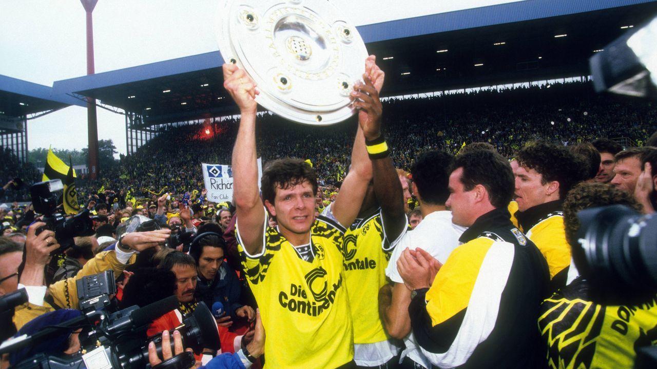 Borussia Dortmund (Saison 1994/95) - Bildquelle: imago sportfotodienst