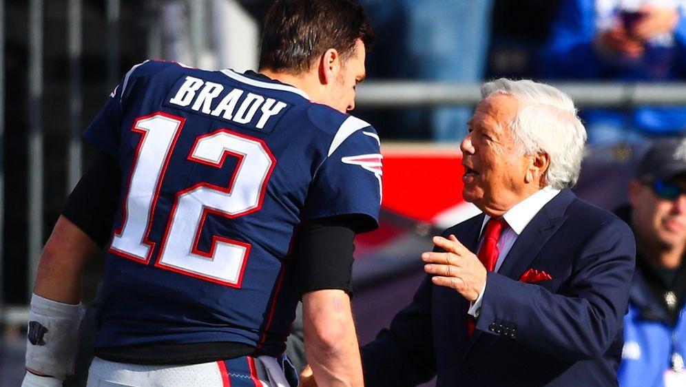 Robert Kraft will Tom Brady behalten. - Bildquelle: 2019 Getty Images