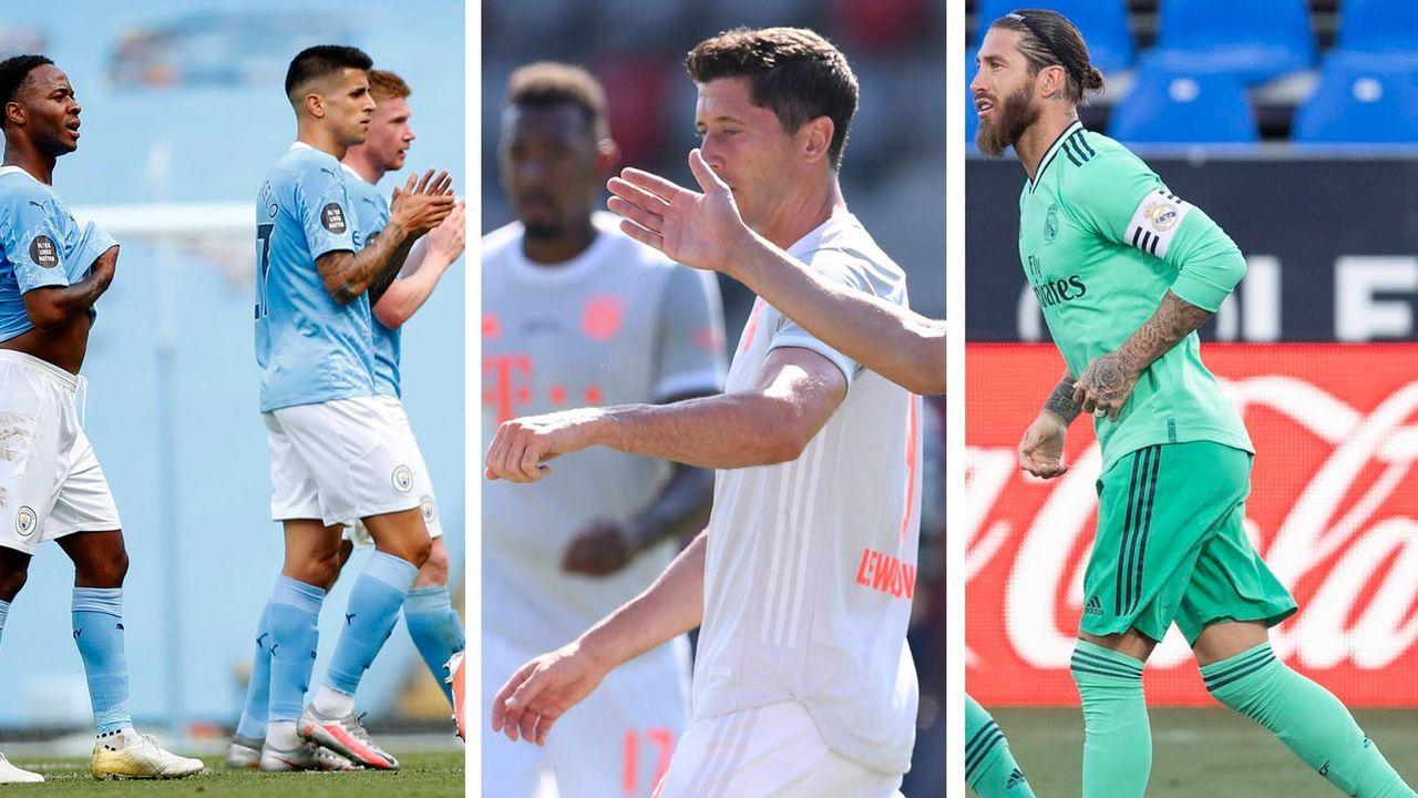 Die Achtelfinalisten der Champions League im Formcheck