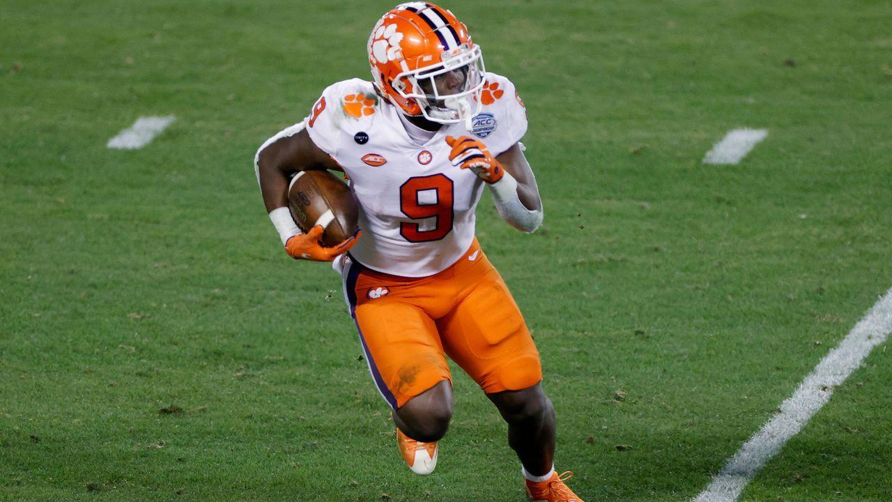 25. Pick - Travis Etienne (Running Back, Jacksonville Jaguars) - Bildquelle: 2020 Getty Images